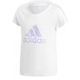 adidas ESSENTIALS PERFORMANCE LOGO TEE - Koszulka dziewczęca