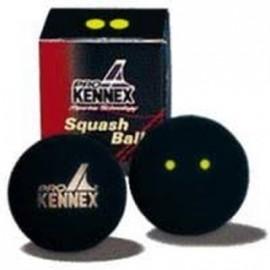 Pro Kennex SQ PIŁKA DWIE ŻÓŁTE KROPKI - Piłka do squasha