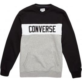 Converse COLORBLOCK CREW - Bluza męska