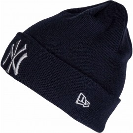 New Era MLB LEAGUE ESSENTIAL CUF NEW YORK YANKEES - Czapka klubowa zimowa