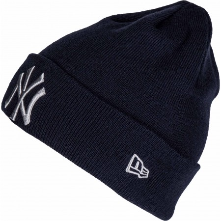 Czapka klubowa zimowa - New Era MLB LEAGUE ESSENTIAL CUF NEW YORK YANKEES - 1