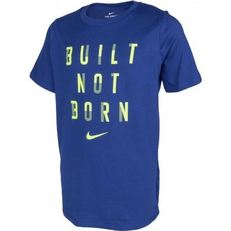 Koszulka treningowa chłopięca - Nike DRY TEE BUILT NOT BORN B - 2