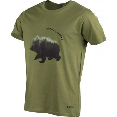 Koszulka męska - Hi-Tec BEORY - 5