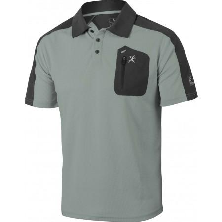 Koszulka polo trekkingowa męska - Klimatex CABER1 - 1