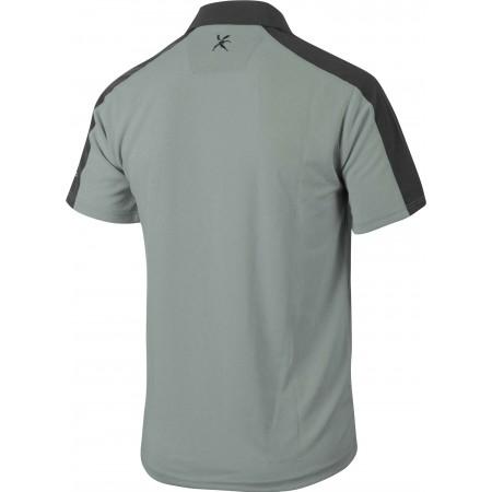 Koszulka polo trekkingowa męska - Klimatex CABER1 - 2