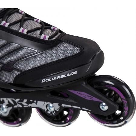 Łyżworolki fitness damskie - Rollerblade ZETRABLADE W - 5