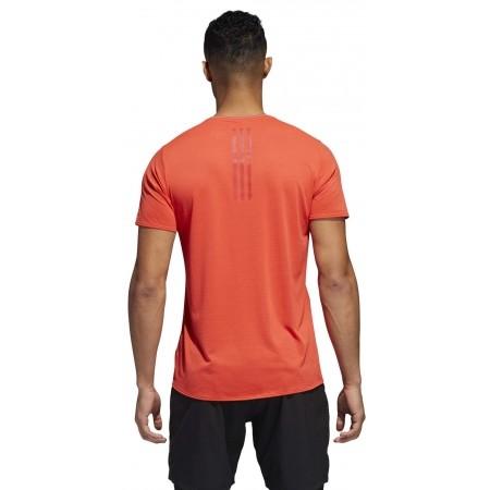 Koszulka do biegania męska - adidas SN SS TEE M - 7