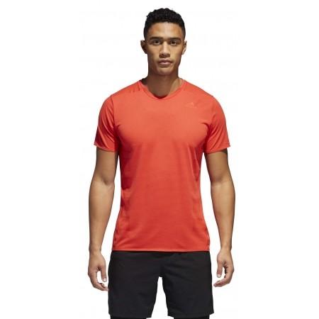 Koszulka do biegania męska - adidas SN SS TEE M - 5