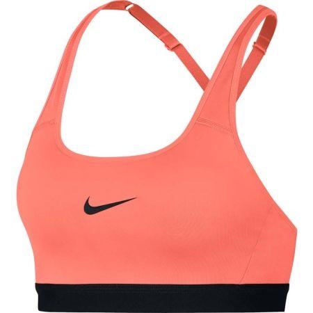 Biustonosz sportowy damski - Nike CLASSIC STRAPPY BRA - 1