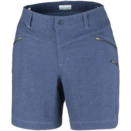 Spodenki sportowe damskie - Columbia PEAK TO POINT SHORT - 1