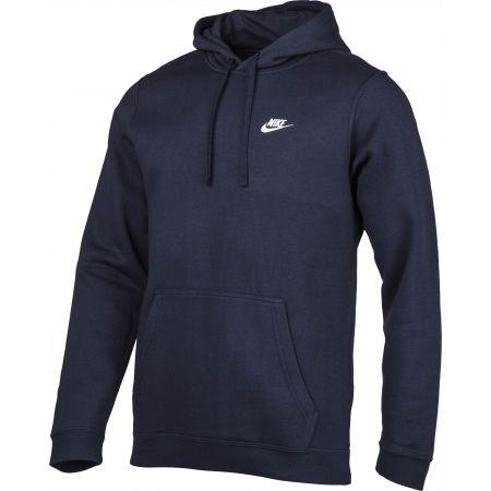 Bluza z kapturem męska - Nike HOODIE PO FLC CLUB - 4