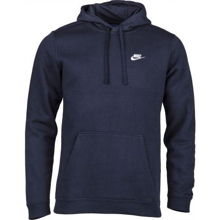 Bluza z kapturem męska - Nike HOODIE PO FLC CLUB - 3