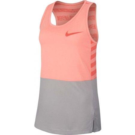 Podkoszulek treningowy dziewczęcy - Nike DRY TANK MDS - 1