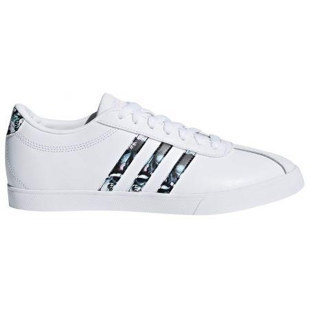 Obuwie lifestylowe damskie - adidas COURTSET W - 1