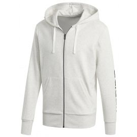 adidas ESSENTIALS LINEAR FULL-ZIP HOOD FRENCH TERRY - Bluza męska
