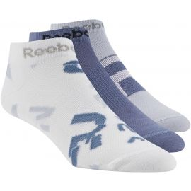 Reebok RUN CLUB WOMENS 3P SOCK - Skarpety damskie