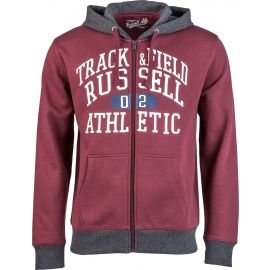 Russell Athletic ZIP THROUGH HOODY WITH GRAPHIC PRINT - Bluza męska