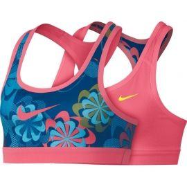 Nike NP BRA CLASSIC REV AOP1 G - Biustonosz dziecięcy sportowy