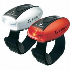 Sigma MICRO COMBO - Lampka przednia i tylna
