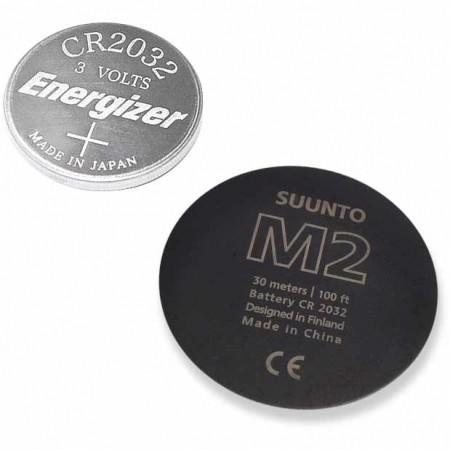 M2 BLACK BATTERY REPLACEMENT KIT -Zapasowe  baterie - Suunto M2 BLACK BATTERY REPLACEMENT KIT
