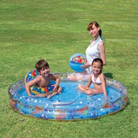 58x10 Play Pond Pool Set – Zestaw basenowy - Bestway 58x10 Play Pond Pool Set